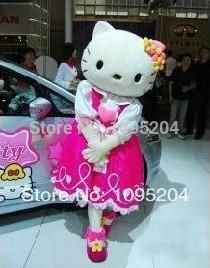 Adult size of high quality 4 styles hello kitty Mascot Costumes hello kitty Mascot costume adult size hello kitty mascot costume