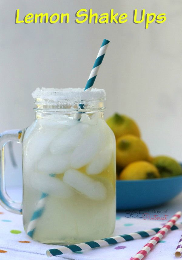 A refreshing fair treat, also known as a lemonade shakeup, this at-home version is delicious and fun for the kids to make, too!