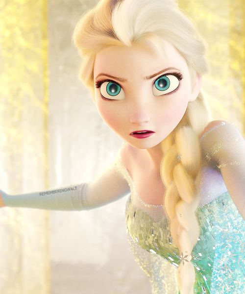 Though I haven't seen Frozen yet, I can say that Elsa (is that her name? ) is VERY stunning!