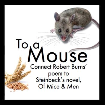 mice men essay robert burns The title of john steinbeck's novel comes from a robert burns poem about the struggle for survival of a field-mouse: 'the best laid plans o' mice and men gang.