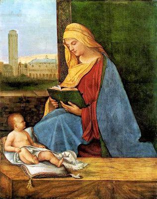 Giorgione - The reading Madonna