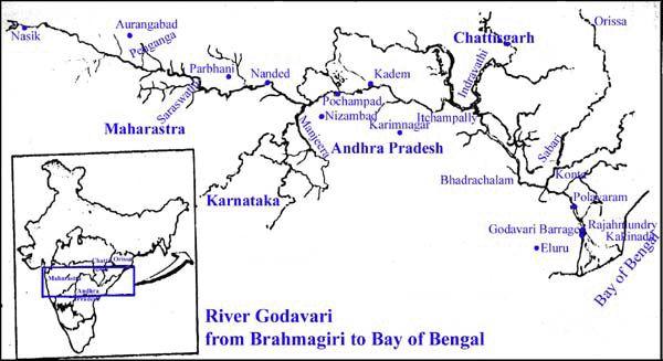 Sagrado río Godavari.
