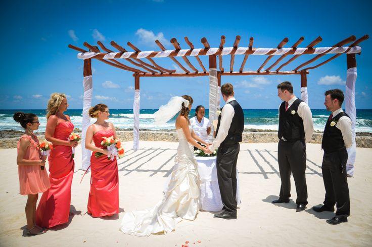 Grand Bahia Coba, beach wedding location.  top seller for Riviera Maya