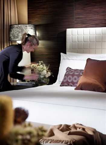 The evening turn down service - Four Seasons style.