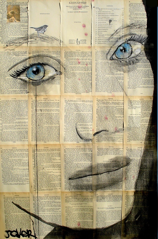 "Saatchi Online Artist: Loui Jover; Pen and Ink, Drawing ""sparrow"""