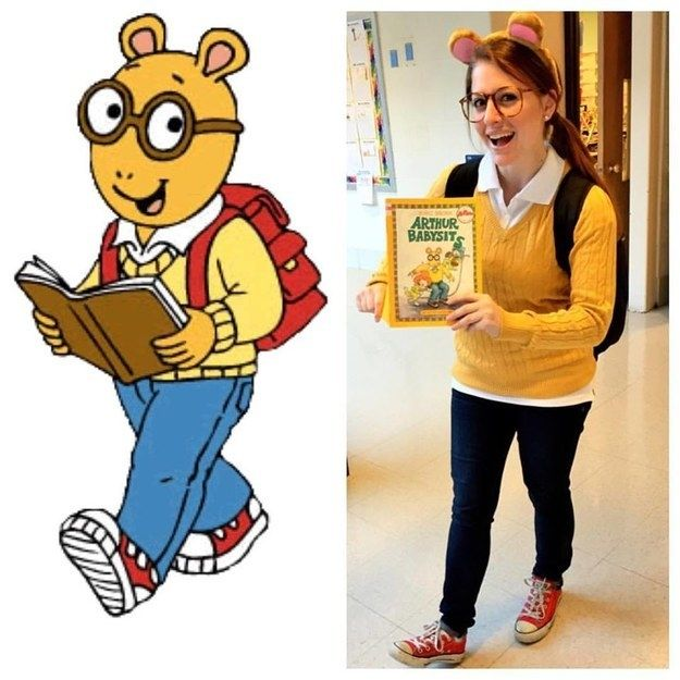 Arthur Read from Arthur | 43 Halloween Costumes You Can Make For Under $20