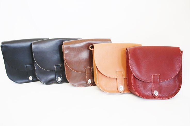 Genuine leather saddle bags. Price: $59 CAD. Available at LEATHEROPIA, 109 Lakeshore Rd East, Port Credit, ON.