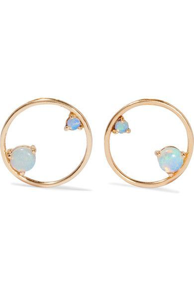 Butterfly fastening for pierced ears NET-A-PORTER.COM is a certified member of the Responsible Jewellery Council