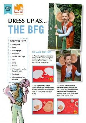 BFG costume kit #WorldBookDay