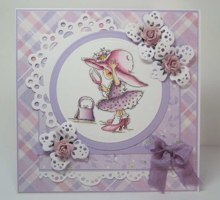 adorable Lily of the valley stamps....