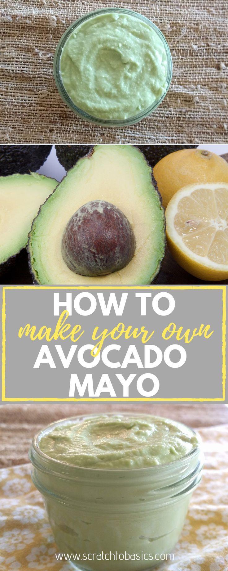Avocado Mayonnaise