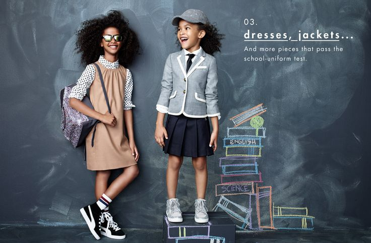 crewcuts goes Back To School.  Back to School Clothes Fall 2014