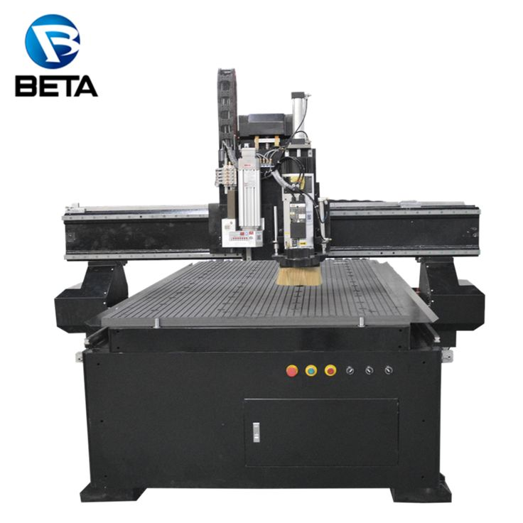 Hot!!! Jinan1325 ATC cnc router machine price with vacuum table for wood working and pvc cutting