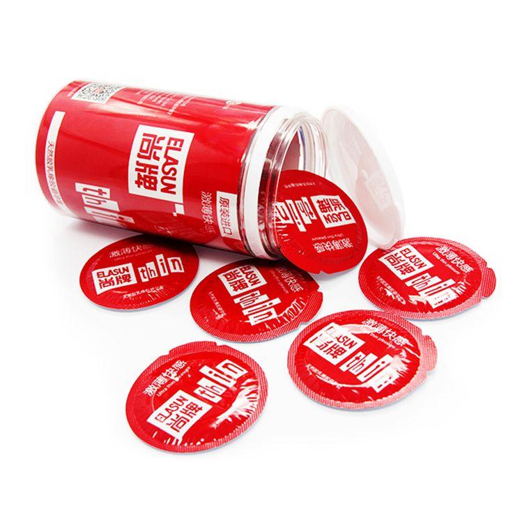 Elasun klasyczne prezerwatywy ultra thin pasja serii 0.04mm naturalnej gumy lateksowej prezerwatywy dla mężczyzn 20 sztuk