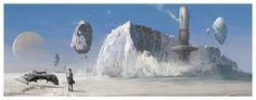 ArtStation - Snowfall Samples of Alpha Cephi 6, Clinton Young