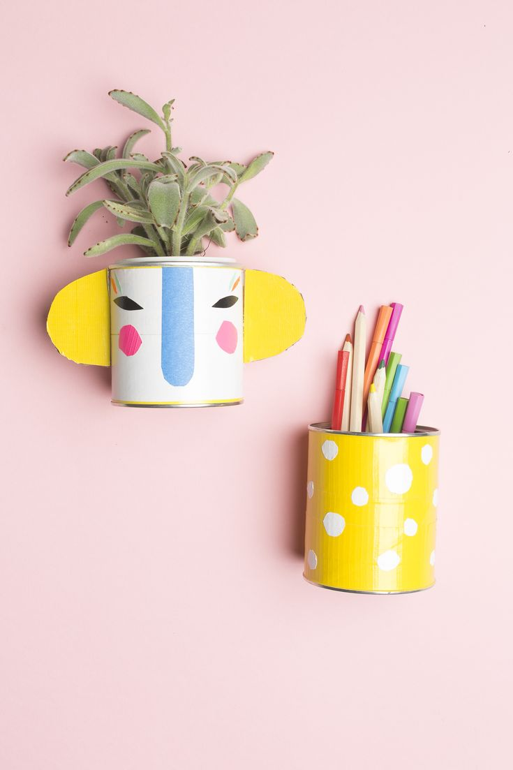 DIY Duct Tape Pencil Holders