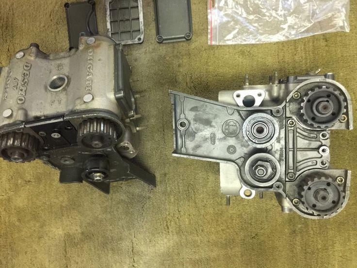 Ducati 851 Desmoquattro Engine Head Set
