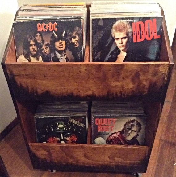 1000 Ideas About Vinyl Record Storage On Pinterest