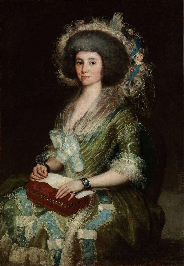 Francisco de Goya y Lucientes - Ritratto della moglie del colto umanista Juan…