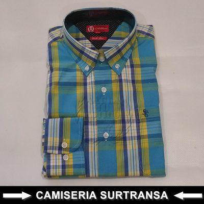 Camisa Cuadros Surtransa 1133