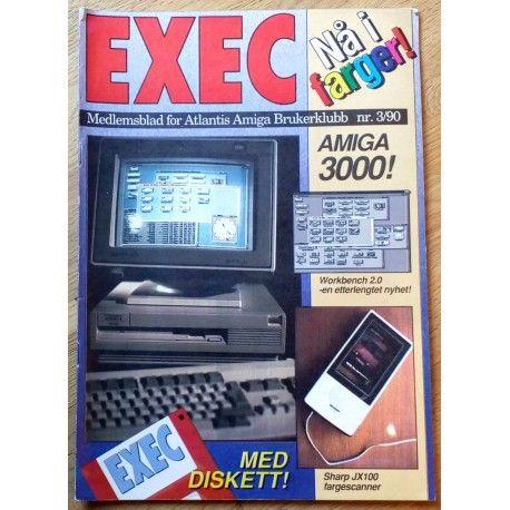 EXEC - Medlemsblad for Atlantis Amiga Brukerklubb: 1990 - Nr. 3