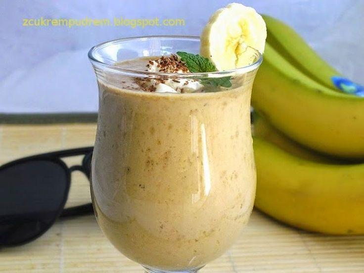 napój kawowo - bananowy