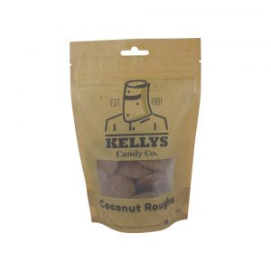 A bulk box of 10 Kellys Choc Fudge Bags.