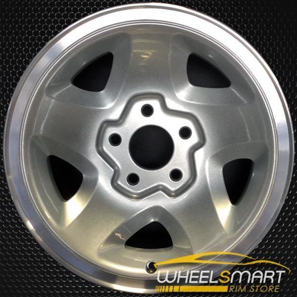 15 Gmc S10 S15 Sonoma Oem Wheel 1994 2000 Silver Alloy Stock Rim
