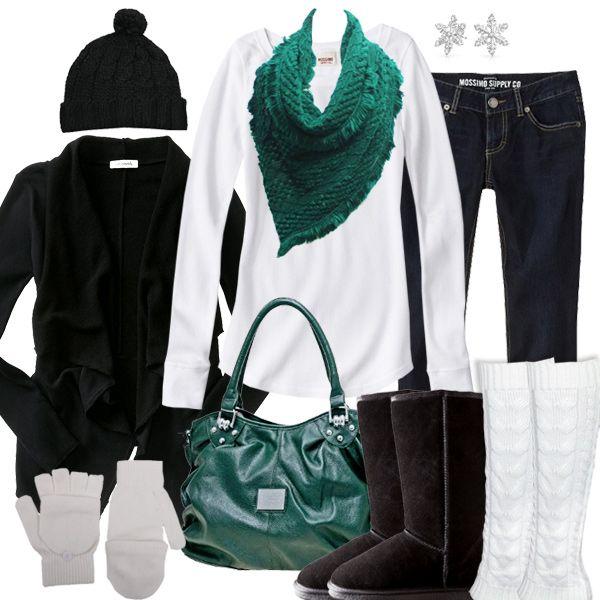 Cute Winter Outfit | Philadelphia Eagles Fashion Style Fan Gear | Pinterest | Winter Fashion ...
