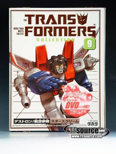 #transformer reissue - transformers collection - tfc #9 starscream - mib - figure 100% complete