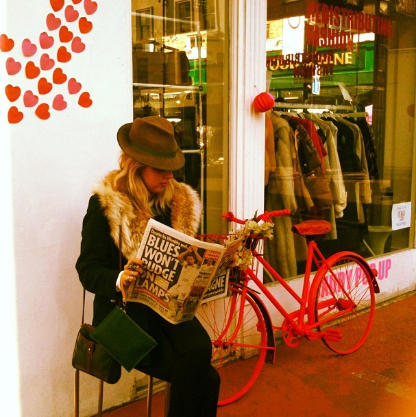 Love is in the air... Redistributing Fashion Luxury Pop Up Shop - Feb 2013