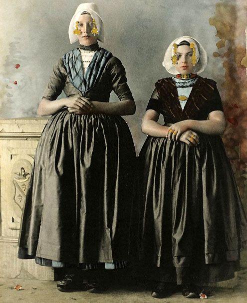 Meisjes uit Arnemuiden, 1894.