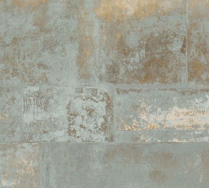 Tapet i metalliske felter. Giver et lækkert unikt råt look med den let metalliske overflade. En tapet med fed effekt! Kvaliteten er Non- woven, lavet på fleece, hvilket sikrer dig en nem opsætning og tapet af god kvalitet. Tapeten har vinyl overflade som giver en stærk, vaskbar og lysægte overflade. Påfør klæber på væggen og opsætningen bliver...