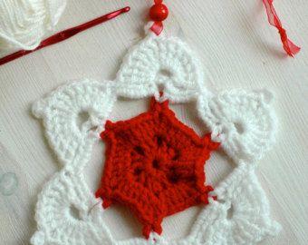 Christmas tree ornaments - Crochet Christmas decorations by Melinda PixIl tuo negozio - Articoli