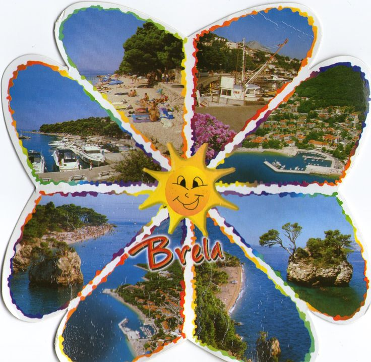 BRELA, CROATIA Beacuse of its natural and cultural heritage, from the very beginning of its past the resort of Brela has an important part in the tourism of Makarska riviera.