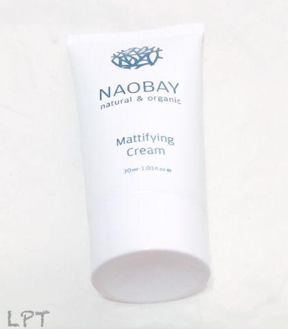 Crema matificante de Naobay