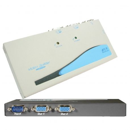Buy Online Now: 2 Way VGA Splitter VSA12 - Fast Shipping to anywhere in Australia