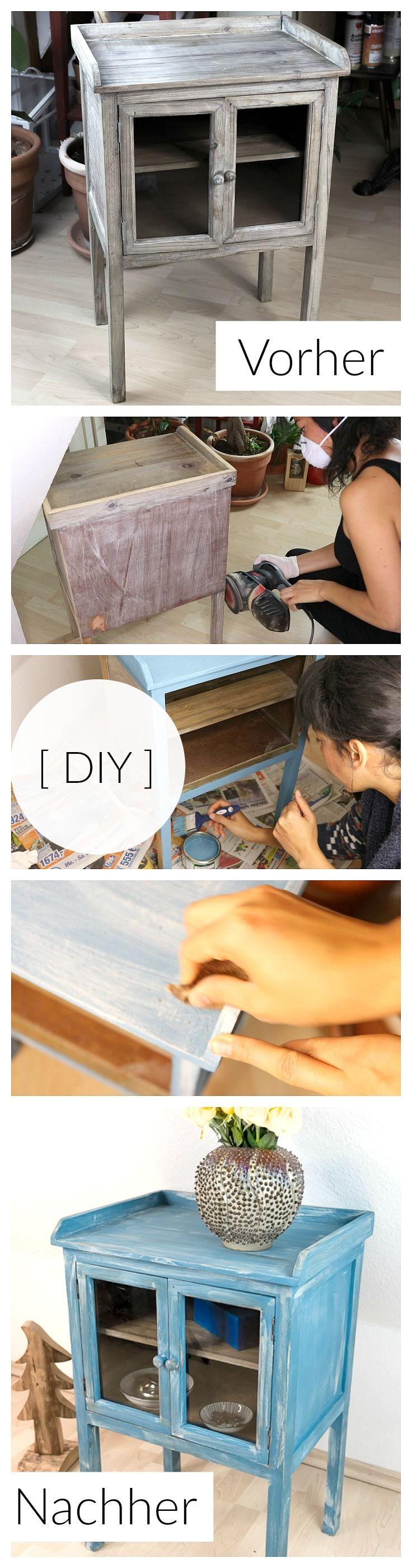 DIY Möbel mit Kreidefarbe streichen | Wie ich ein Möbelstück für das Streichen vorbereite und mit der Kreidefarbe von Borma Wachs streiche | Möbel streichen | Möbel gestalten | Chalk Paint für Möbel | Kreidefarbe für Möbel | DIY Anleitung Deutsch | Ausführliche Anleitung | DIY Idee | Möbel selbst streichen