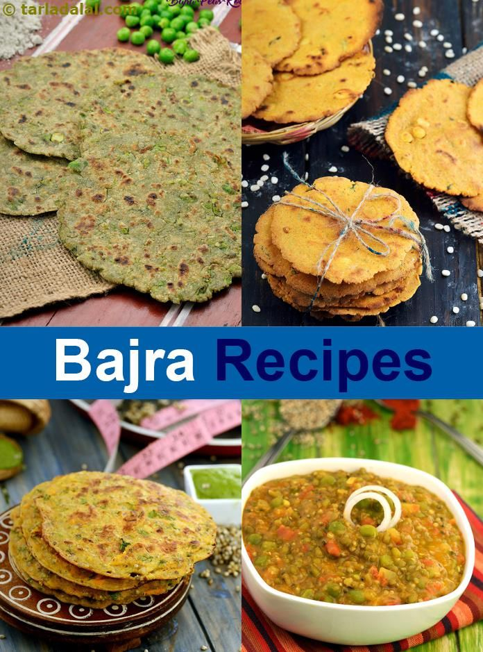 121 bajra recipes | Bajra Recipe Collection  | Page 1 of 9 |  Tarladalal.com