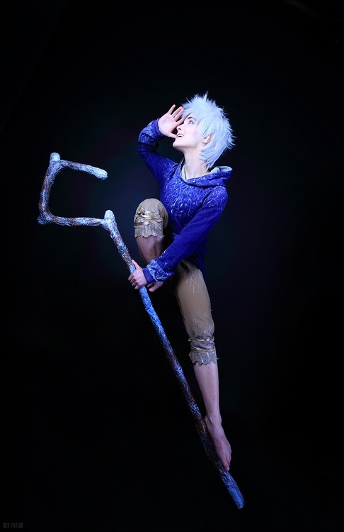 Jack Frost from Rise Of The Guardians  When I get really good at pole.... I may have to cosplay Jack. And make sure that cane can hold my weight.... and use it to spin on the pole... it will be magical