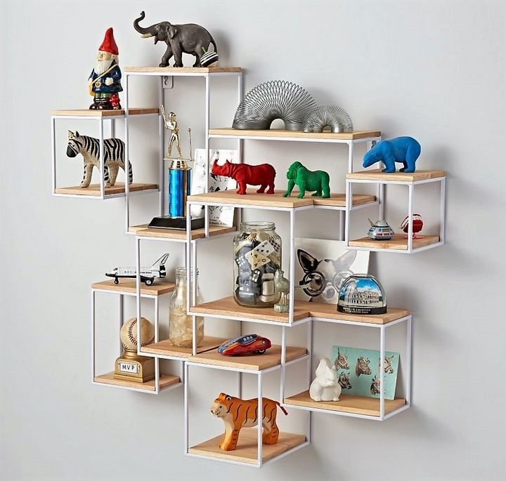 Stylish Ideas For Arranging And Organizing Bookcases: 17 Best Ideas About Wall Shelf Arrangement On Pinterest