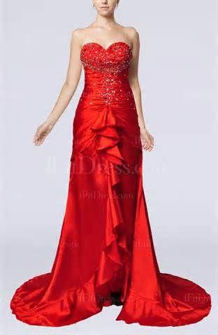 red elegant dress - de búsqueda