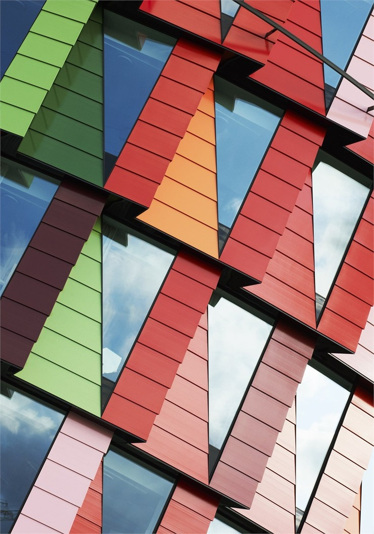 Kuggen, Gothenburg, 2010 by Wingårdh Arkitektkontor #architecture #colours