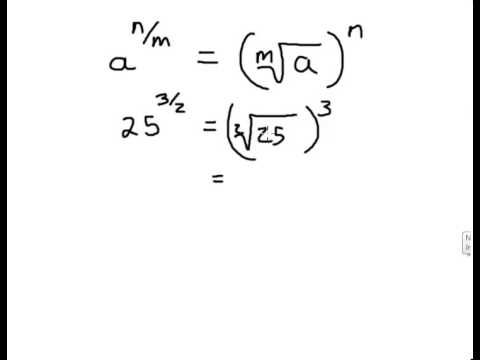 Finding real nth roots and rational exponents