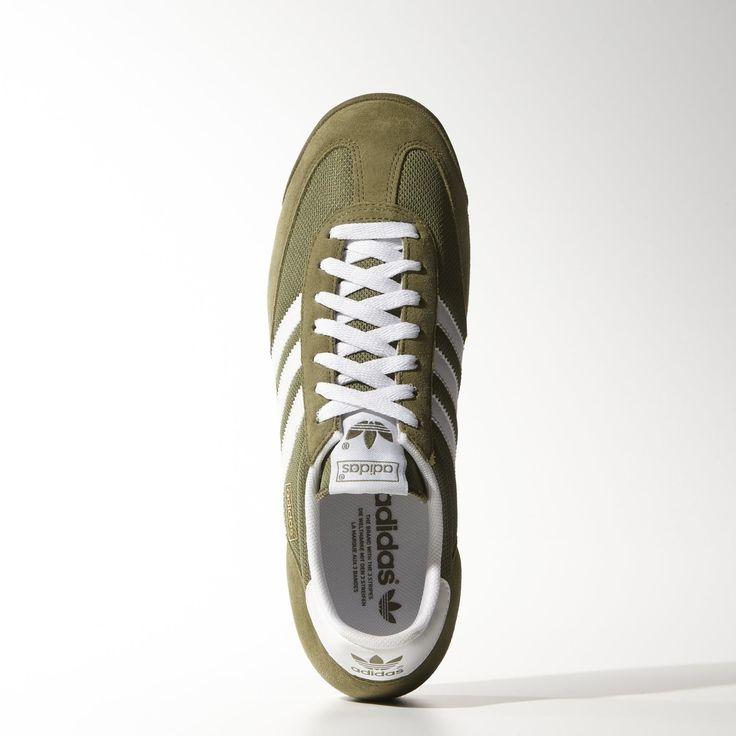 adidas Buty Dragon - Olive Cargo | adidas Poland