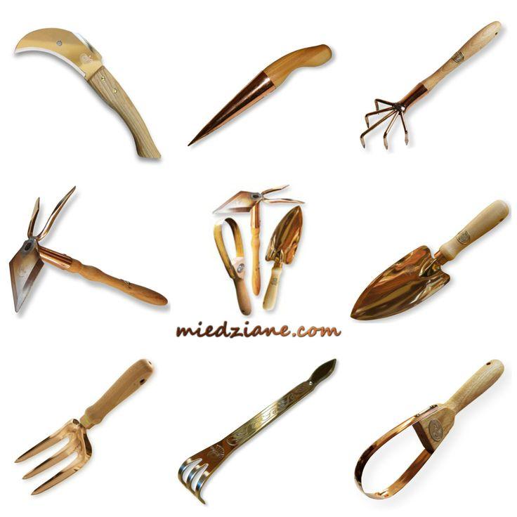 Małe ręczne narzędzia ogrodnicze do cięcia, szczepienia, sadzenia, kopania, wzruszania ziemi, pielenia,