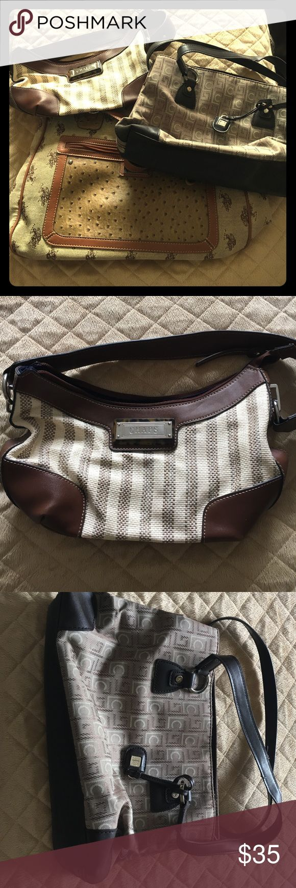 NEW!! ❗️ Handbag 👜 Bundle 💜 Three bags for the price of one! CHAPS, Liz Claiborne, and US POLO Assn bags. All for one low price! 💵 Liz Claiborne Bags Shoulder Bags