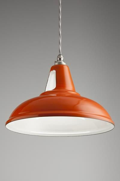 This British made pendant is a design classic, originally designed for use in workshops and factories.