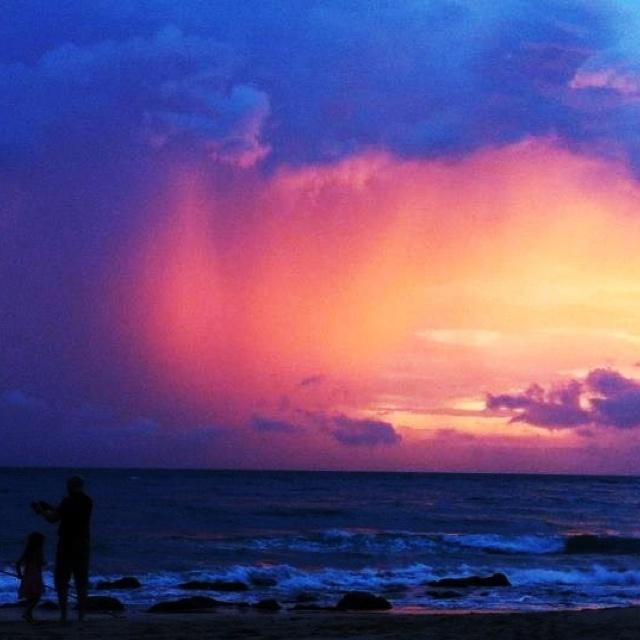 Evening at Lanta Island, Krabi, Thailand (29/04/2012)