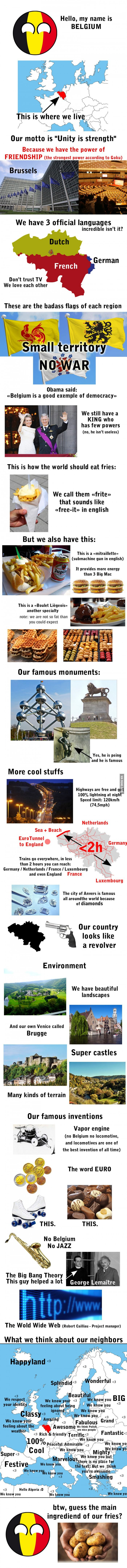 Greetings from Belgium